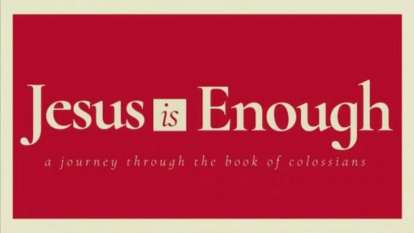 Jesus Is Enough Image